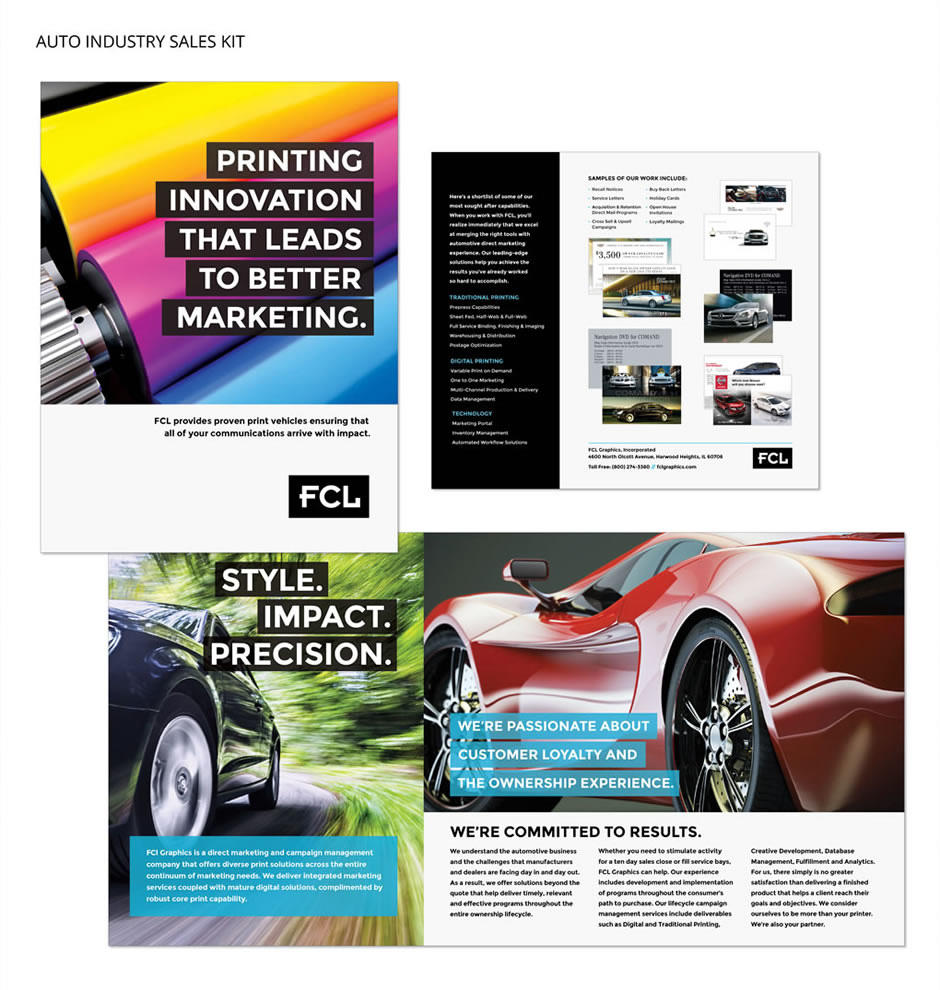 FCL Auto Industry Sales Kit