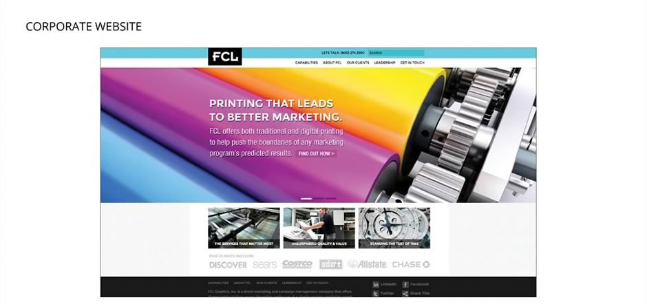 FCL Corporate Website