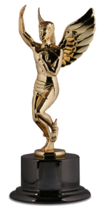 Hermes Gold Statuette MarketCrest