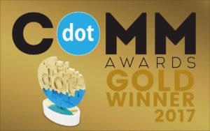 dotcomm gold winner