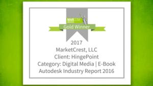 MarketCrest Wins Gold Award for EBook