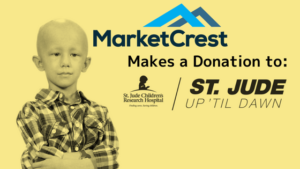 MarketCrest Donates to St Jude's Up All Night Event