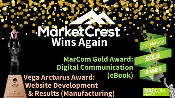 MarketCrest, LLC Wins Vega Digital Award and MarCom Award