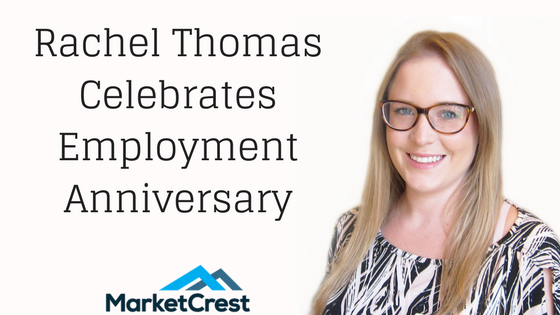 Rachel Thomas Celebrates Employment Anniversary