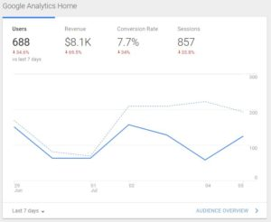 Google Analytics in a Website Marketing Strategy