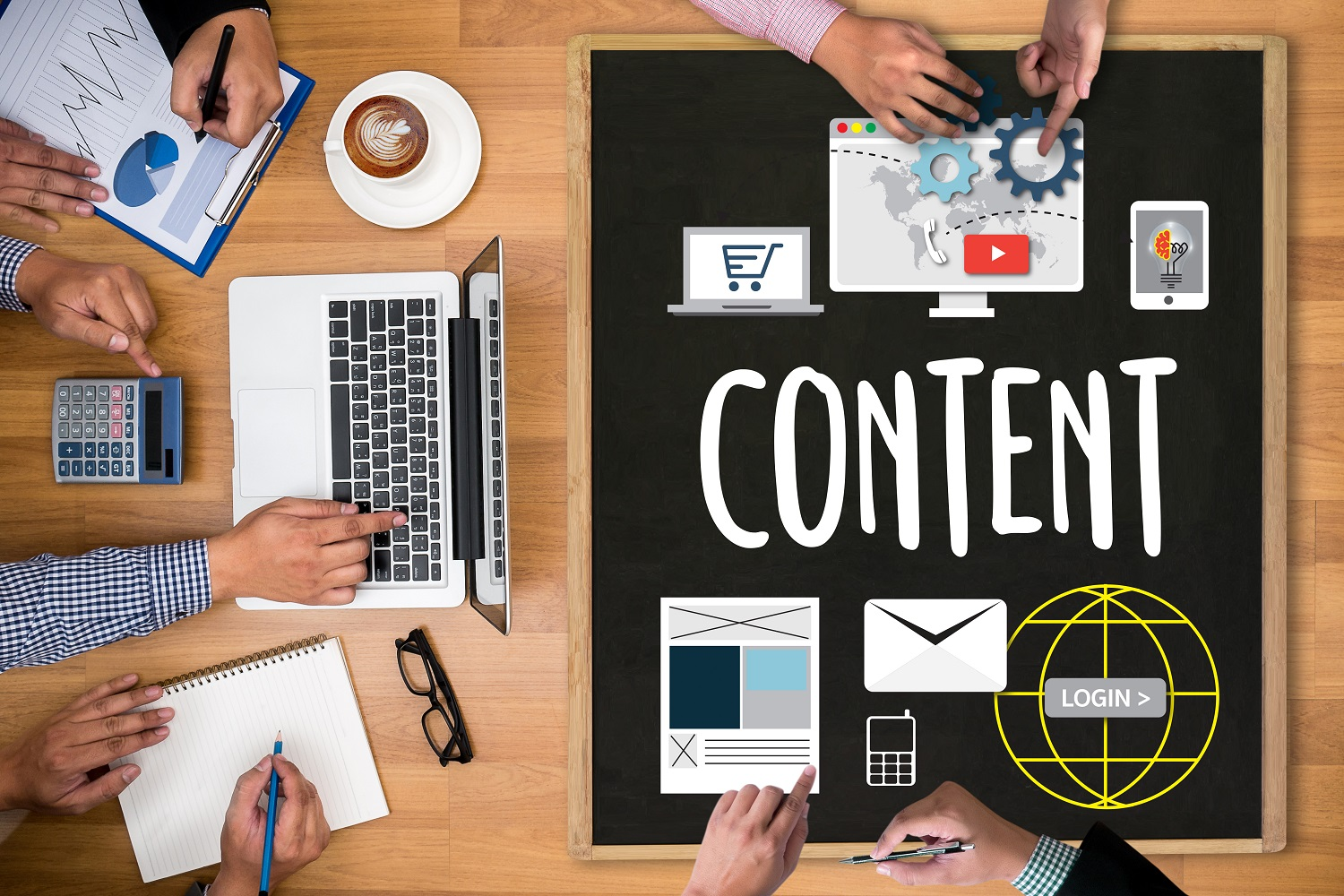 Content Marketing Ideas - MarketCrest