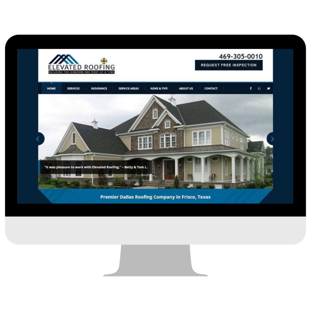 Elevated Roofing MarketCrest Digital Marketing Dallas Case Study