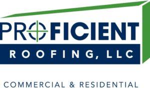 Proficient Roofing Logo | MarketCrest | Roofing Marketing