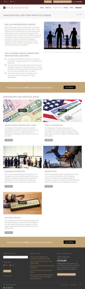 Davis & Associates | Website Design Case Study | MarketCrest